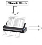 Processing Scanned Check Stubs